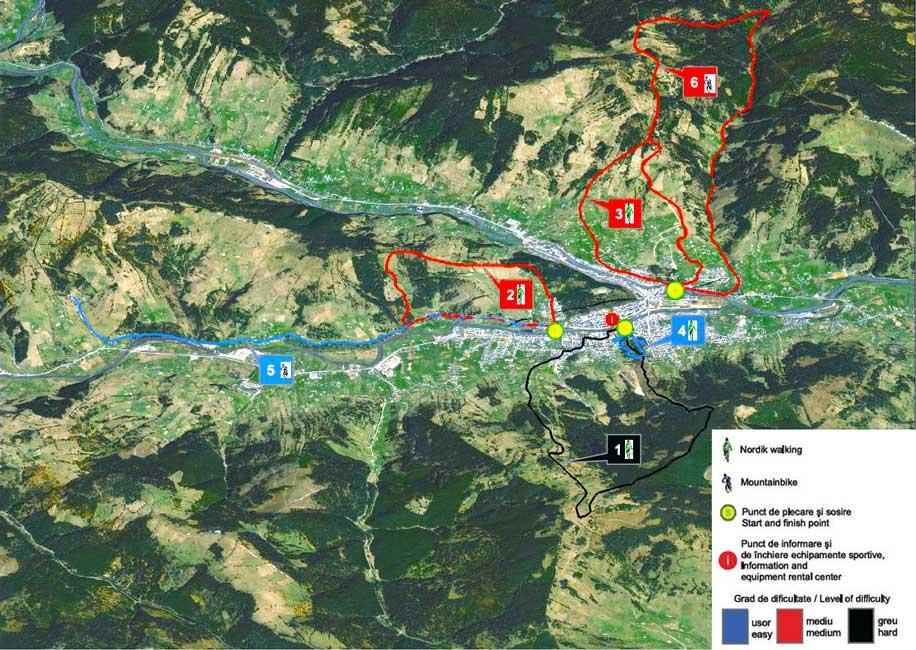 Turism activ in Vatra Dornei
